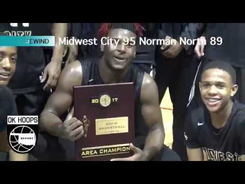 Full Court: Midwest City vs Norman North, Area Championship