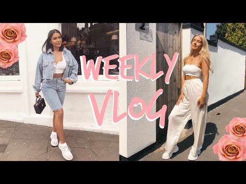 A FEW DAYS WITH US! | GETTING OUR NAILS DONE + LOTS OF FOOD! | Sophia and Cinzia