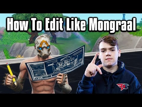 Secret Tips To Edit Fast Like Mongraal! - Fortnite Battle Royale