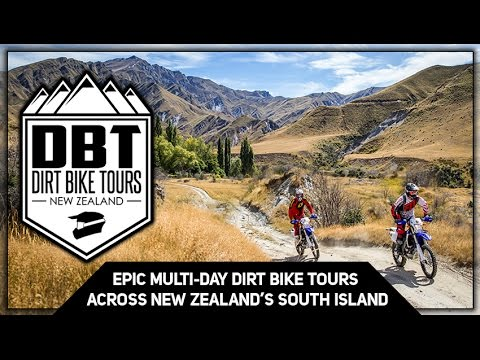 Dirt Bike Tours New Zealand Summer 2015/16 (Feel Alive)