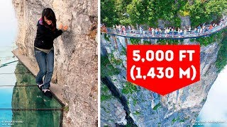 10 Scariest Bridges in the World You Can Walk On