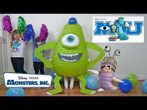 Thumbnail: Disney Monsters Inc Super Giant Egg Surprise Biggest Egg opening Fun Kids Videos ToyCollectorDisney