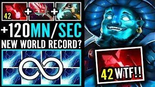 New Record +120 Mana/Sec Storm Spirit by Draskyl Dota 2 Pro Gameplay
