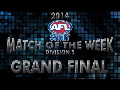 2014 AFL Sydney Div 5 Grand Final