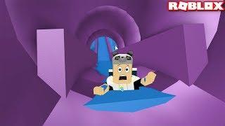 Macera Dolu Kaydıraklardan Kaydık! - Panda ile Roblox Slide down a Pipe