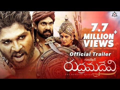 Rudhramadevi Official Trailer || Anushka, Allu Arjun, Rana, Gunasekhar