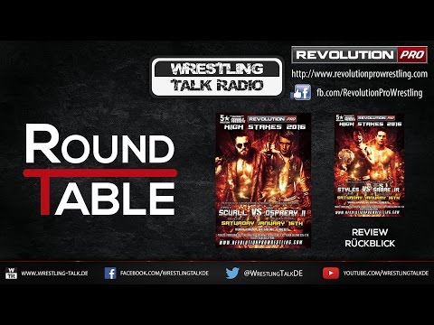[WTR #463] Revolution Pro - High Stakes 2016 Review [Deutsch/German]