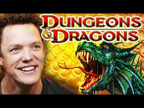 DUNGEONS & DRAGONS With Matthew Lillard, Matthew Mercer & Sam Witwer!