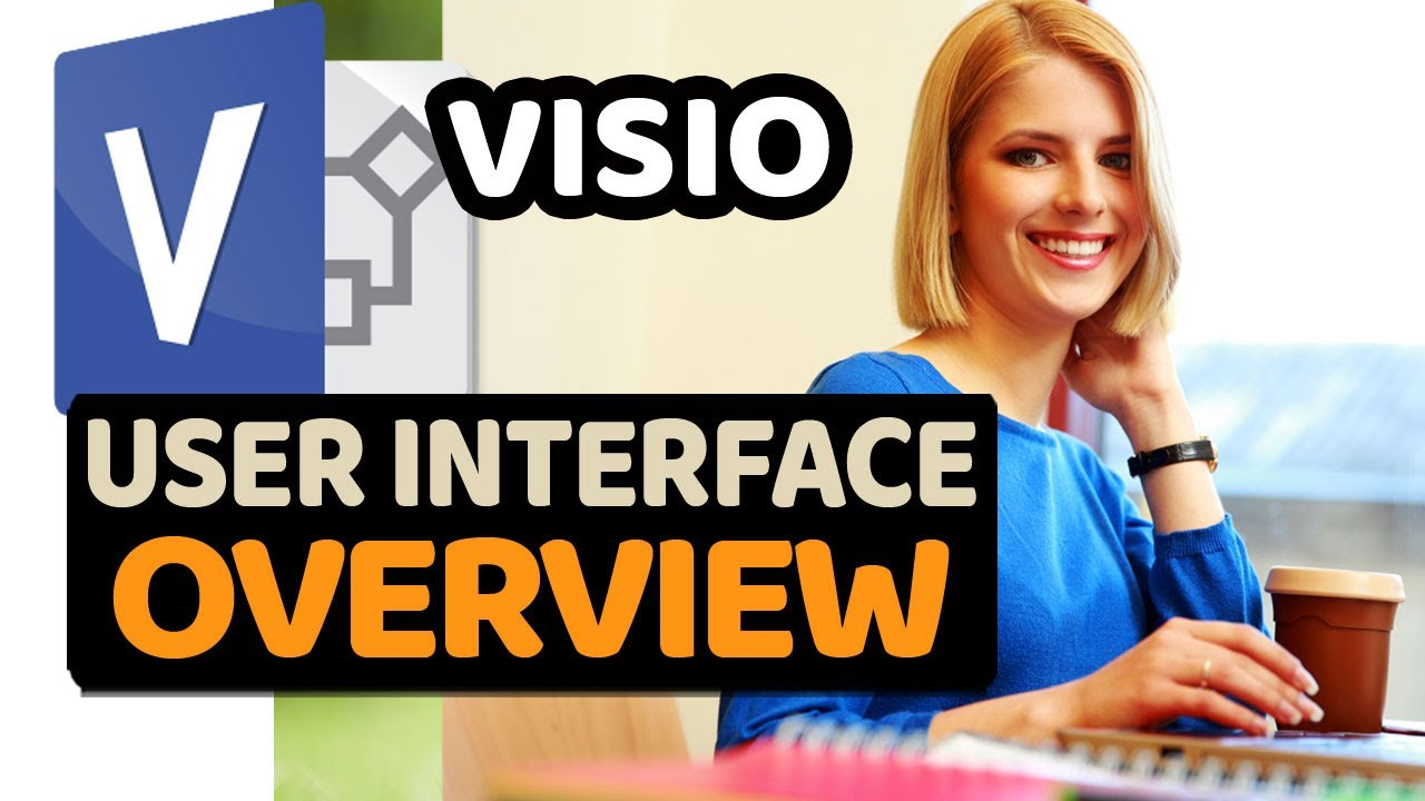 tutorial microsoft visio 2013 user interface gui overview step by step - Windows Visio 2013