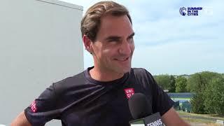 Roger Federer: 2019 Cincinnati Pre-Tournament Tennis Channel Interview