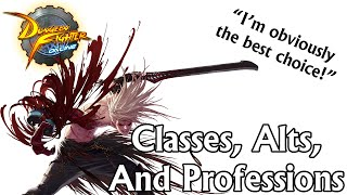 Comprehensive Beginner's Guide: Classes, Alts, and Professions! (Part 2) | DFO