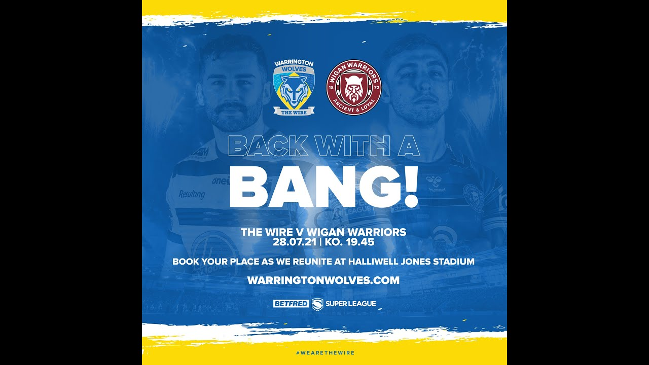 Warrington v Wigan | It's back with a bang!