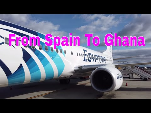 Our Trip From Valencia, Spain To Accra, Ghana
