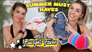 MY SUMMER MUST-HAVE & BUDGET FAVES!! plus Texas stuff