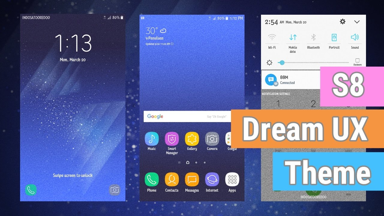 S8 Dream UX Theme V2 | Galaxy Marshmallow & Lollipop Theme