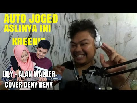 LILY - ALAN WALKER COVER DENY RENY || UKULELE BEATBOX - Reaction Indonesia