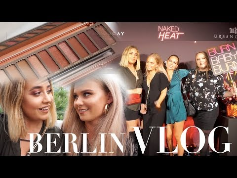 VLOG - URBAN DECAY PARTY & WEEKEND I BERLIN