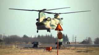 2013年1月7日撮影。災害派遣や映画でお馴染みの機体です。