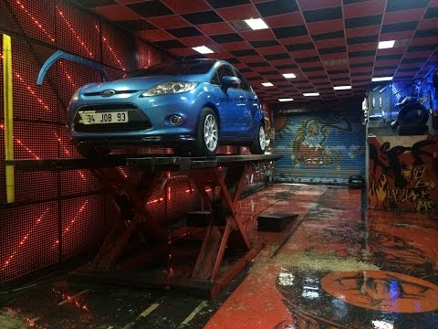 Ford Fiesta 1.4 Tdci, Dizel Egzoz Sesi ve Bodykit