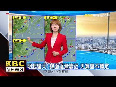 氣象時間 1080526 早安氣象 東森新聞