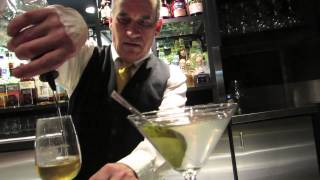 Making Martinis at Moishes