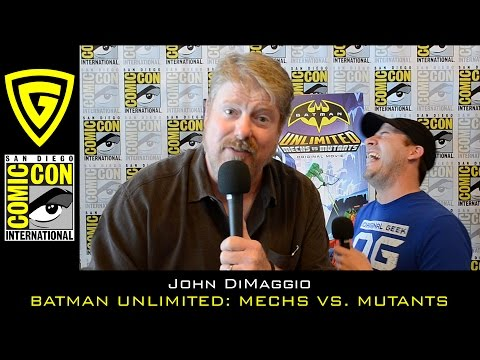 John DiMaggio - Batman Unlimited: Mechs vs Mutants - SDCC 2016
