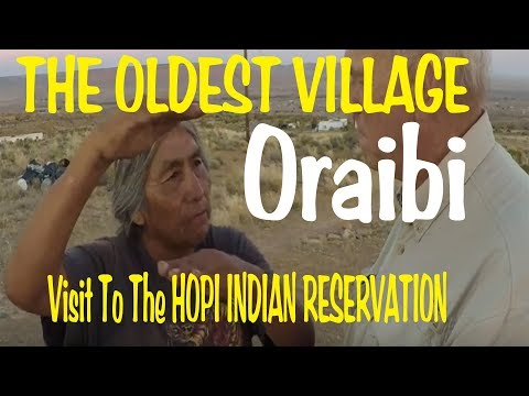 Hopi Indian Reservation - Oldest Village