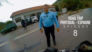 Contrôlé à moto par la DOUANE au Portugal ! | BLKMRKT [ Portugal Espagne: Episode 08]
