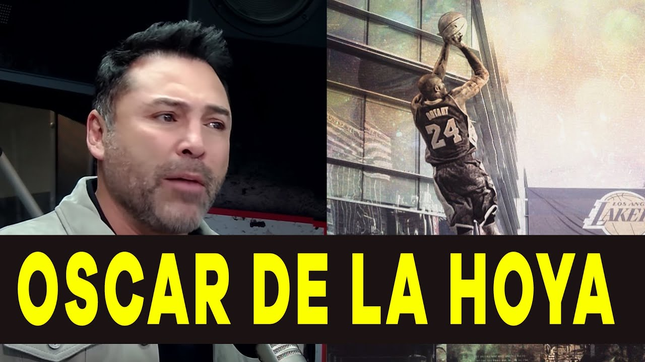 Download Oscar De La Hoya Wants a Kobe Bryant Statue in Front of Staples Center