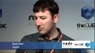 Ryan Dahl - Node Summit 2012 - theCUBE