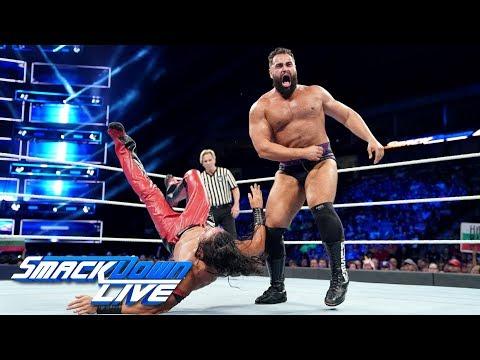 Shinsuke Nakamura vs Rusev  United States Championship Match: SmackDown , Sept 18, 2018