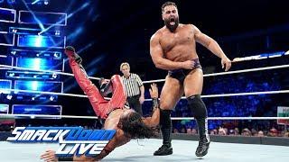 Shinsuke Nakamura vs. Rusev - United States Championship Match: SmackDown LIVE, Sept. 18, 2018