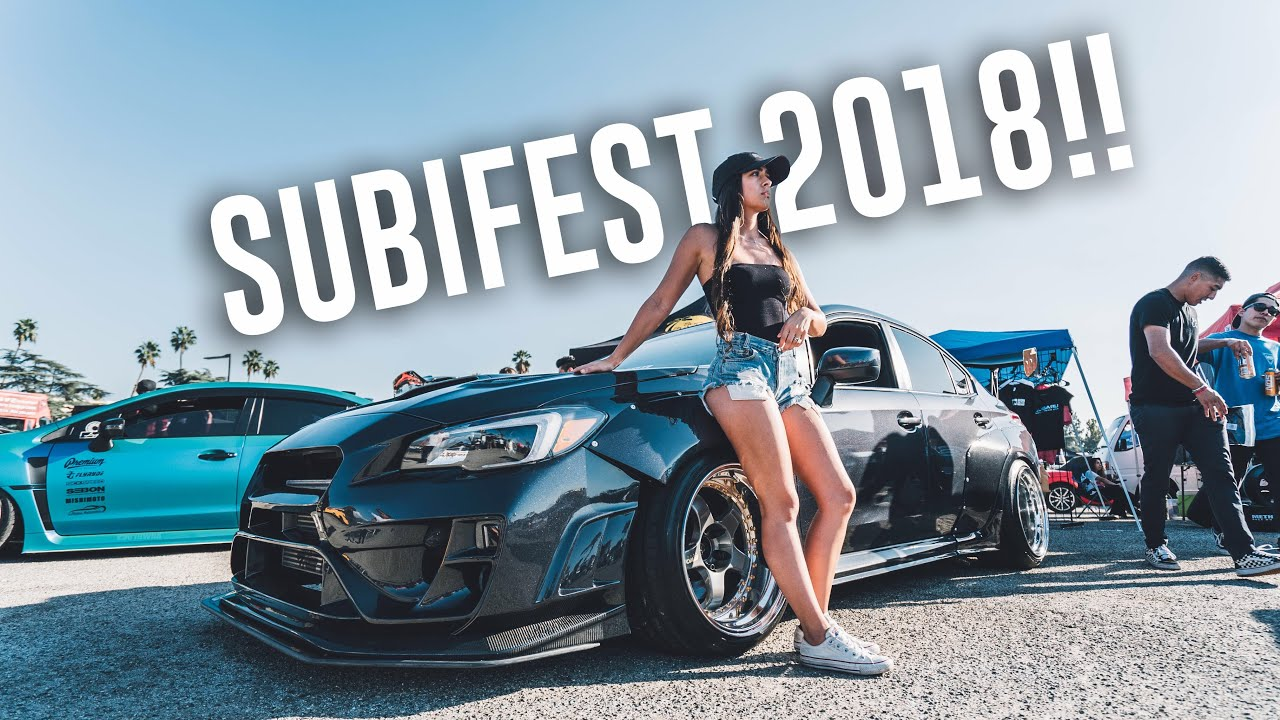 Taking My Wrx To The Biggest Subaru Car Show In Socal Subifest