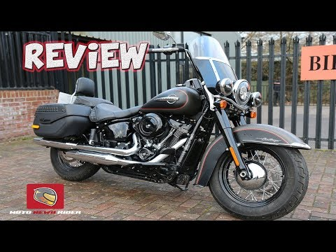 2018 Softail Heritage Ride Review - Harley Davidson