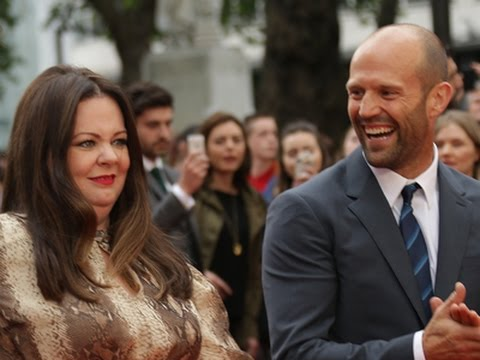Jason Statham Has Melissa McCarthy in Stitches