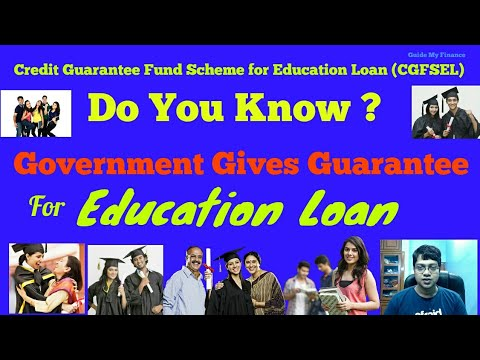 Do You Know Government Gives Guarantee for Education Loan ?? | Watch to learn