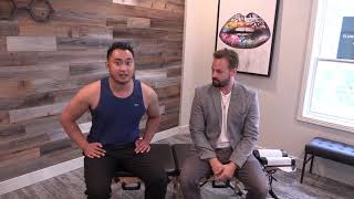 CANADIAN Chiropractor gives *FIRST EVER* adjustment to former Athlete. (Edmonton Chiropractor)