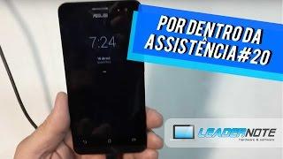Zenfone 5 A501 Travado tela de atalho  - Por Dentro da Assistência #20