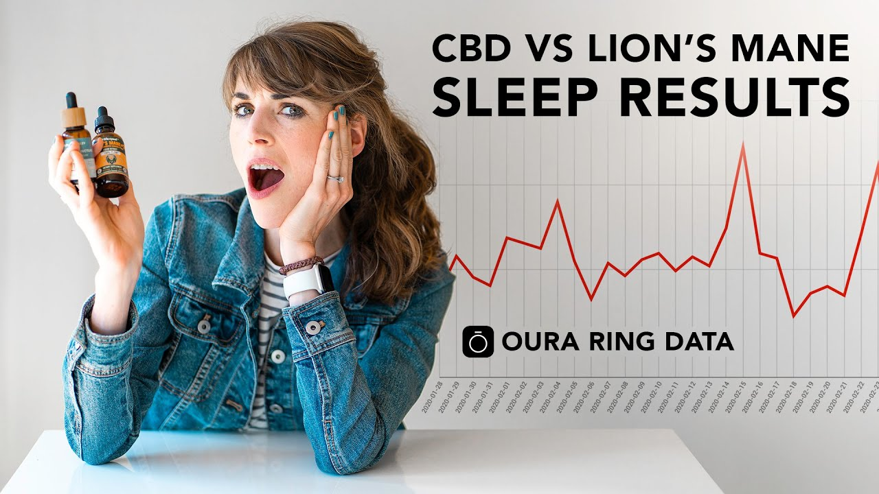 LION'S MANE VS CBD FOR SLEEP - Oura Ring Data Review! Which Works Better?