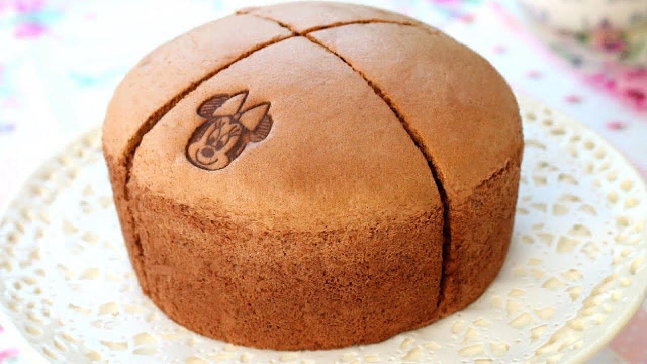 Japanese Cotton Chocolate Sponge Cake Yummy Dessert Recipe Satisfying Cake Decorating Ideas Youtube