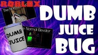 THE DUMB JUICE BUG IN NORMAL ELEVATOR | ROBLOX