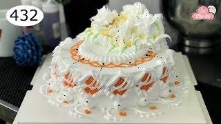 chocolate cake decorating bettercreme vanilla (432) Học Làm Bánh Kem Đơn Giản Đẹp - màu cam (432)