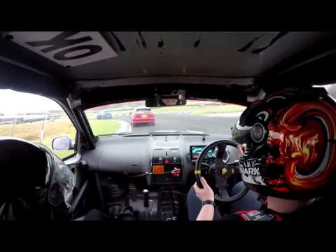 """Three Sisters """"Track Attack"""" 29th January 2017. VW Lupo"""