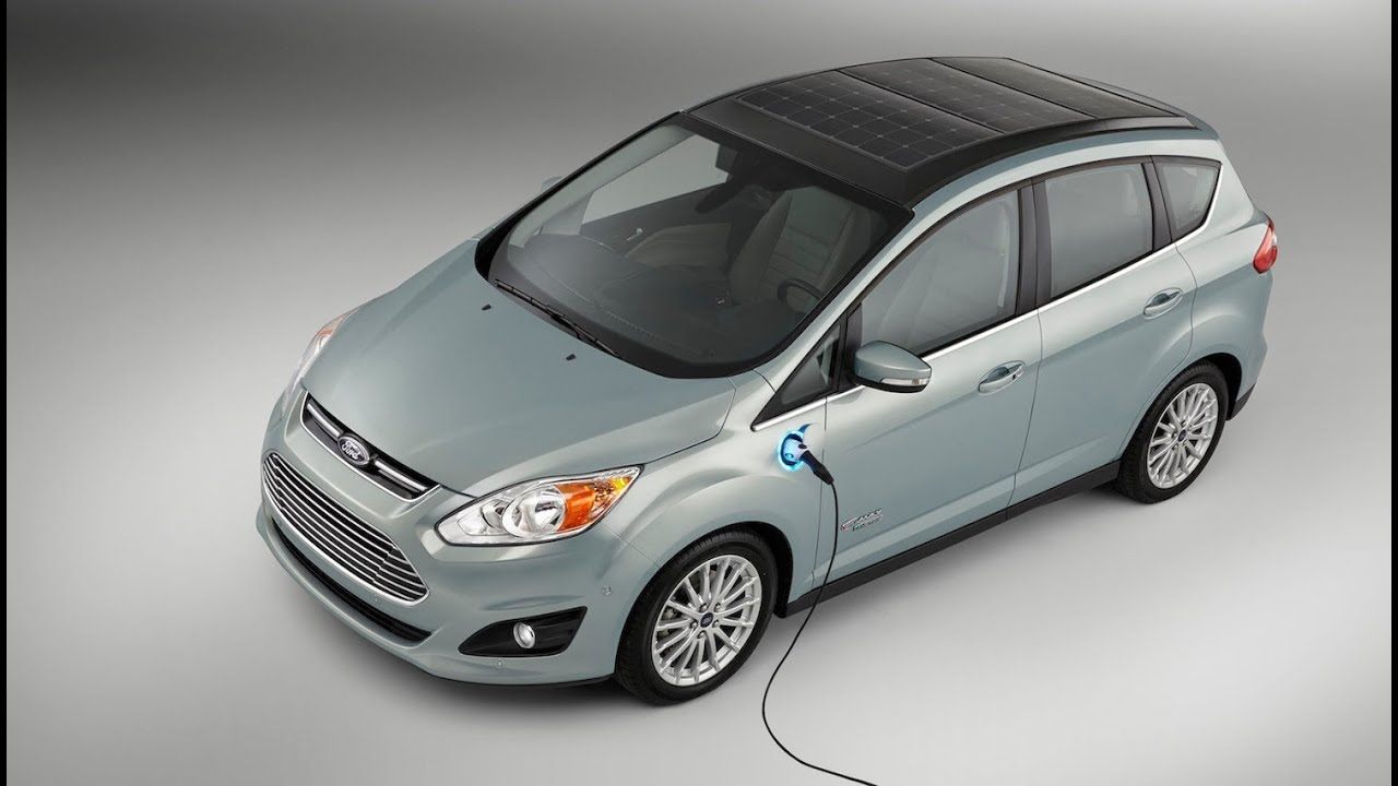 C Max Energi >> SOLAR Powered Passenger Car - Ford CMAX Solar Energi Hybrid Concept - YouTube