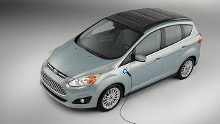 SOLAR Powered Passenger Car - Ford CMAX Solar Energi Hybrid Concept thumbnail
