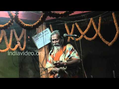 Baul performance by an artiste