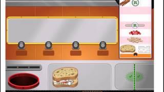Папа Луи! Готовим вкусные сэндвичи! Играем онлайн