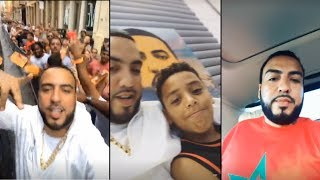 French Montana Avec Son Fils ! Weldo
