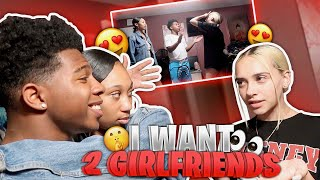 I TOLD MY CRUSH I WANT 2 GIRLFRIENDS *I brought in her best friend*