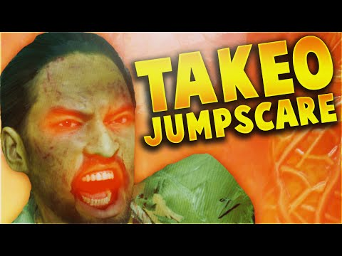 TAKEO JUMPSCARE! Zetsubou No Shima Doppelganger Easter Egg! (Black Ops 3 Zombies Gameplay)